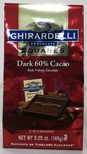Ghirardelli Chocolate Squares Dark 60% Cacao 5.25 oz