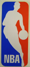 "NBA Basketball League Logo  Bumper Window Wall Backboard Sticker 3-1/8"" X 7-3/8"""