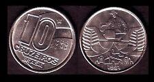 ★★ BRESIL ● 10 CRUZEIROS 1991 ● E6 ★★