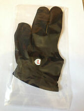 Black Cueing Glove - ideal for snooker pool - sold by coutts cues