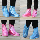 Practical Water proof Non-Slip Rain Boots Shoes Covers Zipper design T151