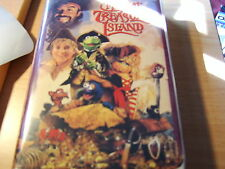 Disney/Henson Muppet Treasure Island VHS White Clamshell Case