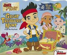 Jake and the Never Land Pirates The Great Treasure Hunt: A-ExLibrary