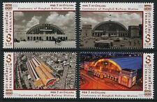 Bangkok Railway Station 100th Anniversary mnh set of 4 stamps 2016 Thailand