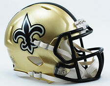 NEW ORLEANS SAINTS NFL Riddell SPEED Mini Football Helmet