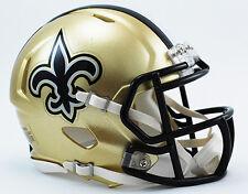 NEW ORLEANS SAINTS NFL Riddell SPEED Mini Football Helmet