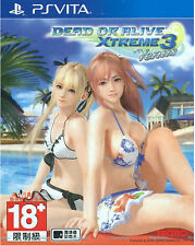 Dead or Alive Xtreme 3 Venus HK Chinese/English subtitle Version PSVita NEW