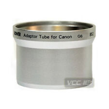 LENS & FILTER ADAPTER TUBE FOR CANON POWERSHOT G6 52MM