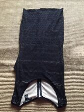 Forever 21 Bodycon Tube Little Black Dress size M/M Button Lined