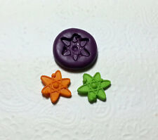 Silicone Mold Science Atom Mould (19mm) Cake Decoration Clay PMC Jewelry Mints