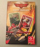 Planes 2 Happy Families Disney Card Game