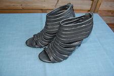 !! wie NEU!! JUMELLES Sandaletten Highheels schwarz Gr. 38