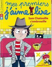 MES PREMIERS J'AIME LIRE Sam Chatouille S'embrouille * Sans CD  débutants CP 89