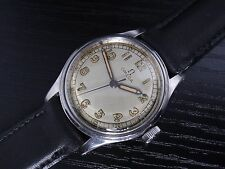 1942 Omega military *rare case* (SS) -SERVICED- ΩR17.8 SC mens vintage watch