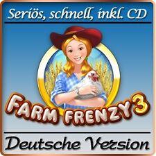 Farm Frenzy 3-mia piccola fattoria 3-Deluxe-PC-GIOCO - versione tedesca