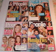 Lot People Magazine 2004, Nicky Hilton, Britney Spears, Plastic Surgery, Best of