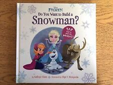 NEW.  FROZEN- Do You Want to Build a Snowman? Interactive book By Calliope Glass