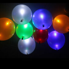 35 Pack LED Hellium Air Mixed Colors Balloons Wedding Light Up Party Xmas Decor