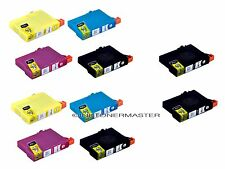 10PK Inks for T126 fit Epson Stylus NX330 NX430 2 Set+ 2 extra black High Yield
