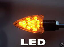 ►2X LED Hond XR50 Motard,CR80R,CR80R2,SXR90 Joker SCHWARZ ARROW MINI BLINKER