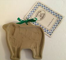 Brown Bag Cookie Art 1986 Cow Shape Mold Recipe Book Baking Hill Design USA