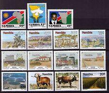 Namibia 1990  year set of  4 sets