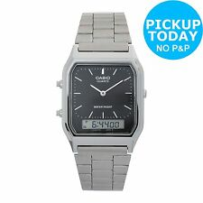 Casio Men's Stainless Steel Combi Watch. From the Official Argos Shop on ebay