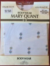 Vintage Mary Quant Mesh Body Fancy Bodysuit 1980's Sealed Pack