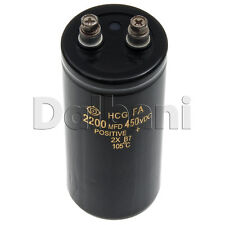 Pulled 2 Screw Terminal Capacitor 450V 2200UF 50mm Dia. 110mm Height