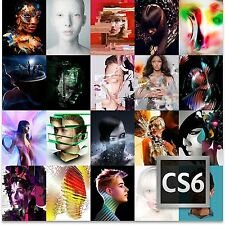Adobe CS6 MASTER COLLECTION Creative Suite 6 per Windows 100% AUTENTICO