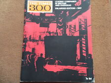 The Times 300 Leading Co's in Britain & Overseas 1967 28 pages VGC magazine