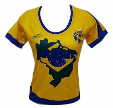 Brazil Women Soccer Jersey New With out Tags Made by Arza Sports Brasil