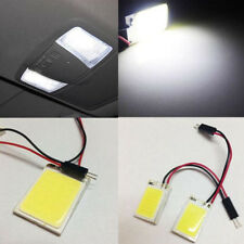 8W 12V COB 24 Chip LED Car Interior Light T10 Panel Light Car Light Source Lamp