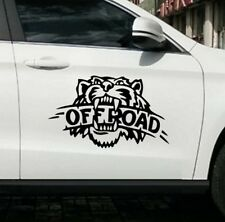 2 x Tiger Kopf Offroad Aufkleber jdm tuning Decal Sticker Decals 50 x 32 cm
