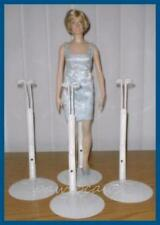 3 Kaiser Doll Stands for Franklin Mint Vinyl Princess Diana Titanic Rose Dolls