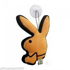 Playboy Bunny Rabbit Head Mini Window / Car Cushion Orange New