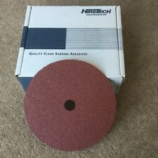 10 Hiretech floor sanding abrasive disc of your Choice from 24, 40,80,or120 grit