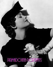 "MYRNA LOY 8X10 Lab Photo B&W 1930s ""RUTH HARRIET LOUISE"" VEILED GLAMOUR PORTRAIT"