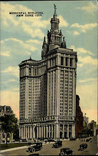New York City USA Amerika ~1920/30 Partie am Muncipal Building Hochhaus Auto Car