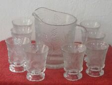 9 PC Tara Exclusive Picther And Glasses Set