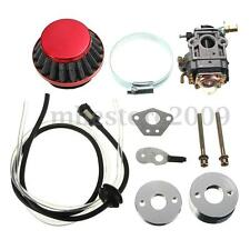 Carburetor Air Filter Fuel Line Kit For Pocket Bike Scooter ATV Moto 43cc 49cc