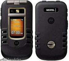 Lot of 2 Mint Motorola i686 Nextel PTT IDEN Unlocked Cell Phones GRID, Iconnect