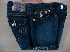 True Religion Jeans Girls Dolly cut-off RAGAZZA JEANS doposcuola MIS. 10 NUOVO con etichetta