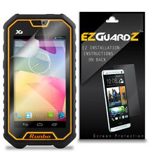 5X EZguardz Screen Protector Skin Cover Shield HD 5X For Runbo X6 (Ultra Clear)