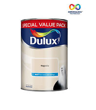 Dulux - Matt Magnolia 6L Paint - For Walls And Ceillings - High Quality Paint