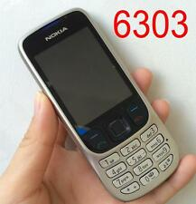 NOKIA 6303 C CLASSIC NEW CONDITION - SILVER Mobile Phone Cheap bar easy phones