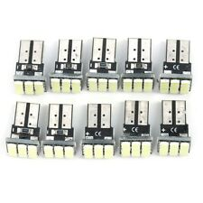 10x T10 LED 12 SMD Car License Plate White Light Tail Bulb 2825 192 194 168 W5W