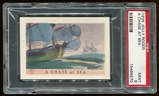 """1936 Jolly Roger """"A Chase At Sea"""" PSA 9 MINT Cert #15486570"""