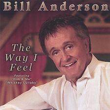 DAMAGED ARTWORK CD Bill Anderson: Way I Feel