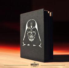DARTH VADER NOTEBOOK HANDMADE - Star Wars Dark Side Geek Lord Journal Sketchbook